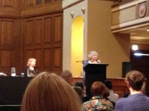 Miriam Margoyles at the Newcastle Writers Festival