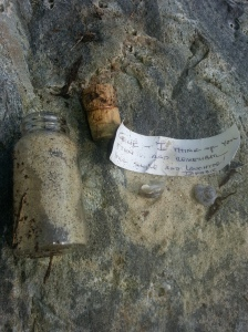 Message in a bottle found in Maine