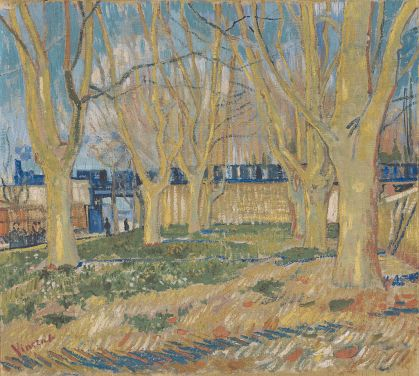 le_train_bleu_by_vincent_van_gogh